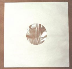 12 inch polylined record sleeve