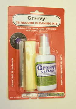 78 RPM Record Cleaning Kit