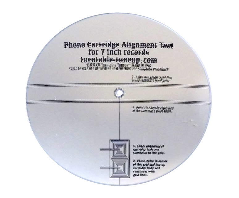 7 inch alignment tool