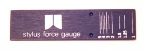 Stylus Tracking Force Gauge